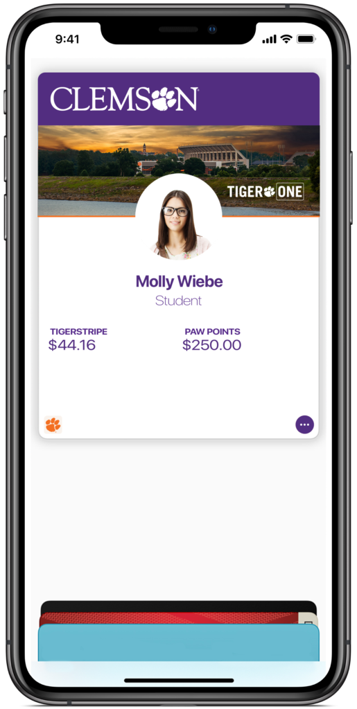 TigerOne Mobile ID provisioned to Wallet